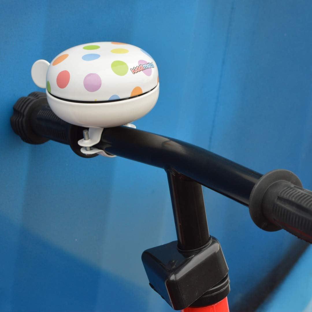 Kiddimoto Stainless Steel Bike Bell for Kids//Adults Small - 2⅜ Diameter