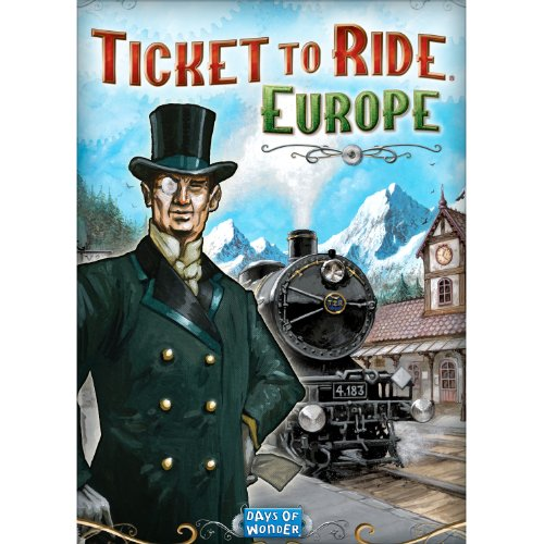 Ticket to Ride: Europe DLC (Mac) (Ticket Base)
