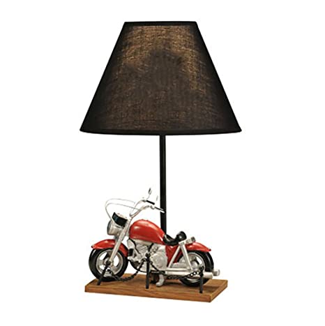 Children Motorcycle Lamp Bedroom Bedside Lamp Creative Gifts Table