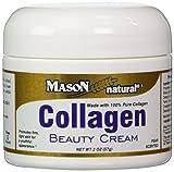 collagen Mason Vitamins Collagen Beauty Cream 100% Pure Collagen Pear Scent, 2-Ounce Jars