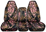 1994 to 2002 Dodge Ram 1500 2500 3500 40-20-40 Truck Seat Covers Camouflage Designs 17 Choices. Seat Covers will not fit a Ram Quad Cab with Integrated Seat Belts (Pink Real Tree Camouflage)