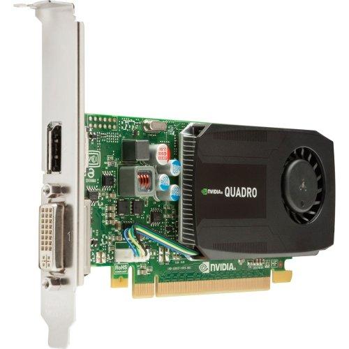 "Hp Quadro K600 Graphic Card . 1 Gb Ddr3 Sdram . Pci Express . Laag. Profiel . Displayport . Dvi ""Producttype: Videokaarten/grafische kaarten"""