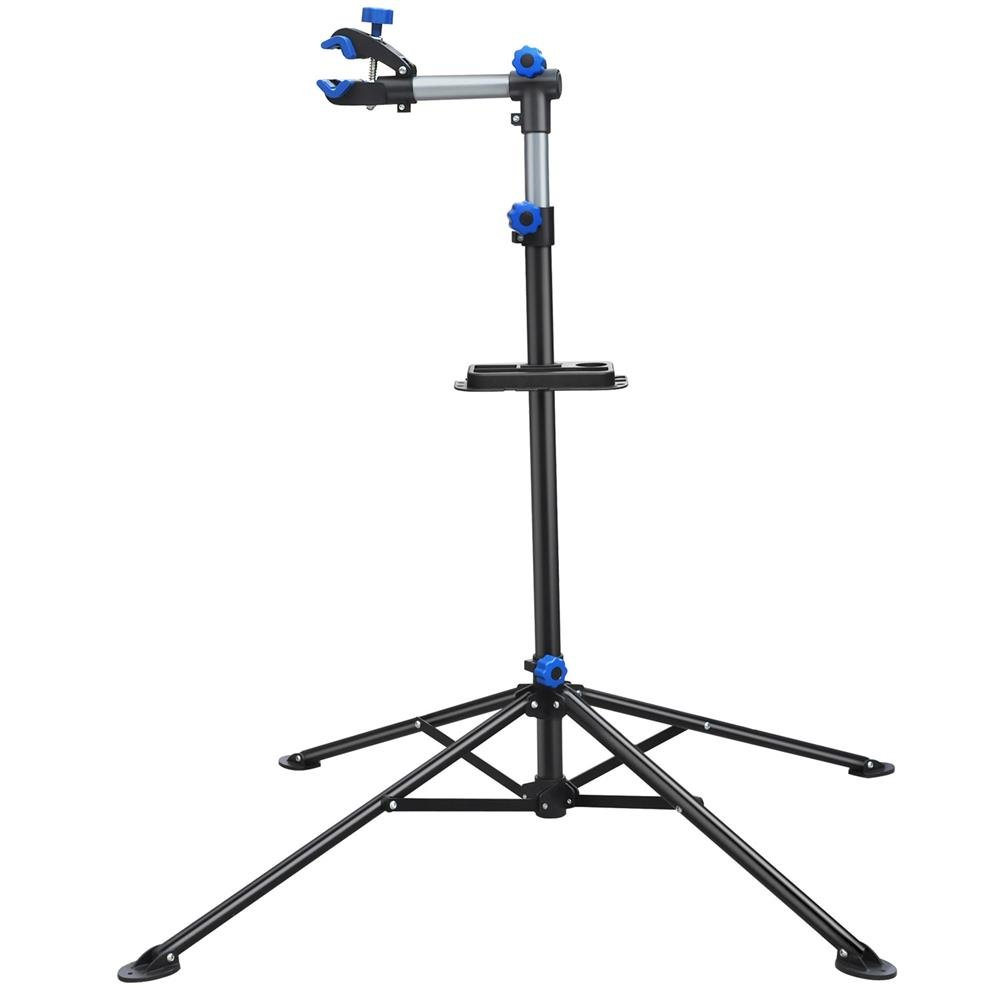 Yaheetech Adjustable 52'' to 75'' Pro Bike Repair Stand w/Telescopic Arm & Balancing Pole Cycle Bicycle Rack