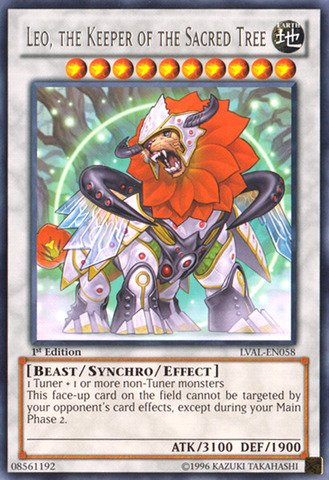 Sacred Tree (Yu-Gi-Oh! - Leo, the Keeper of the Sacred Tree (LVAL-EN058) - Legacy of the Valiant - 1st Edition -)