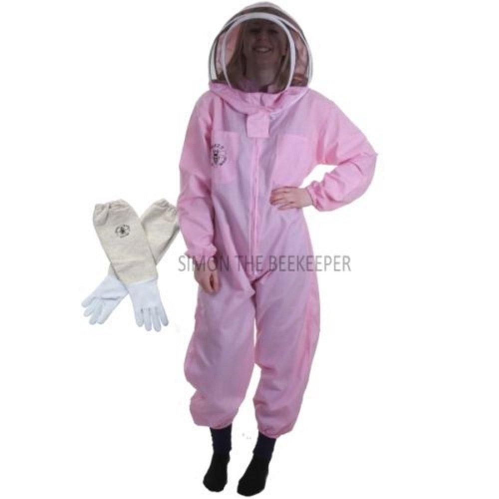 Buzz Bee traje de la Basic apicultor con valla velo y guantes