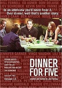 Dinner For Five, Episode 13