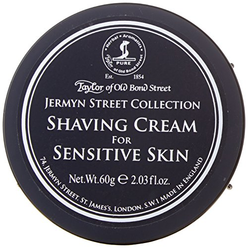 (Taylors of Old Bond Street Shaving Cream (60 ml, Jermyn Street) - Perfect for Travel)