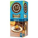 34 Degrees Crisps, Vanilla, 16.5 oz (Pack of 3)