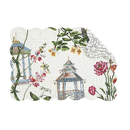 Quilted Placemat Multi (Set of 4 Pcs., 13x19