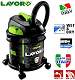 LAVOR ITALY RUDY1200S WET & DRY VACUUM VAC CLEANER INDUSTRIAL 20LTR 1200W 230V