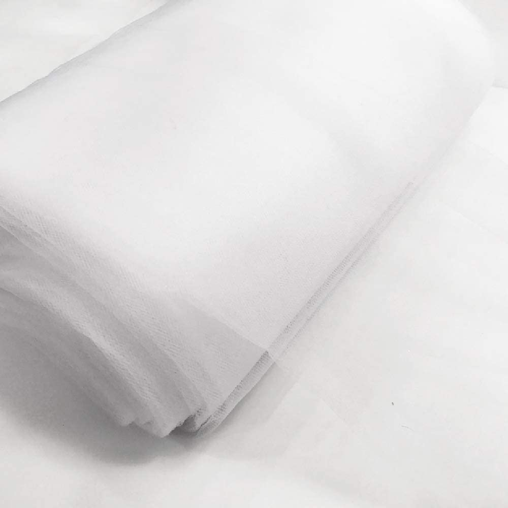 Special Events Weddings White Nylon Tulle Fabric 54 By 40 Yards Etc.