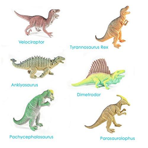 Boley Educational Dinosaur Toys 12 Pack Kids 9