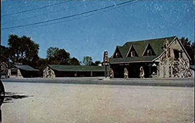 Wadlington Rock Motel Hopkinsville, Kentucky Original Vintage Postcard