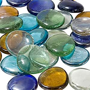 25 tbc home decor xl mixed extra large jumbo for Colored stones for crafts