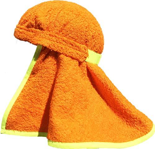 Polarheads PRO 3-in-1 Hard Hat Sun Shade, Sweatband and Cooling Towel. Reduce Heat Stress while Increasing Hard Hat Comfort. ()