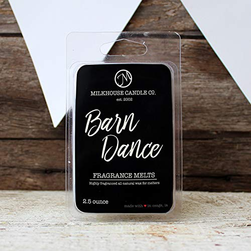 Milkhouse Candle Creamery Soy Beeswax Scented 2.5 Oz. Fragrance Melt (Barn Dance) -