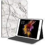 Fintie iPad 9.7 2018/2017, iPad Air 2, iPad Air Case - [Sleek Shield] PU Leather Slim Fit Multi Angle Stand Cover w/Pocket, Auto Wake/Sleep for Apple iPad 6th / 5th Gen, iPad Air 1/2, Marble
