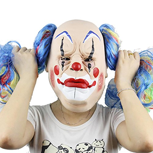 Leoy88 Halloween Party Mask Funny Mask Cosplay Mask (C)