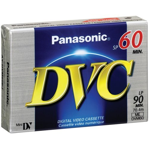 PANASONIC AY-DVM60EJ Mini Digital Video Cassette (60 min) Consumer electronic by Panasonic