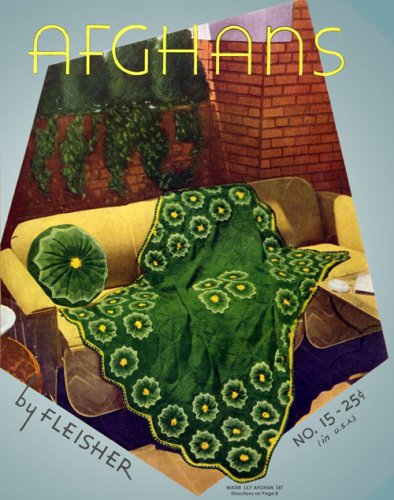 Download Fleisher's Afghan Book #15 c.1932 - Crochet Patterns in Color PDF