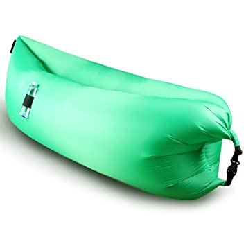 Al aire libre inflable tumbona, h-yiber rápido hinchable sillas de camping silla de