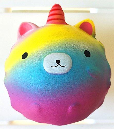 Hammoosh. Soft Princess Bear Squishy Rainbow best for Safe playing for Children