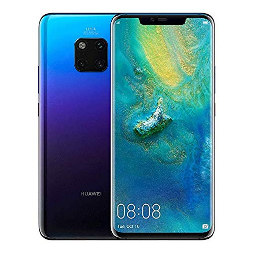Huawei Mate 20 Pro LYA-L29 128GB + 6GB - Factory Unlocked International Version - GSM ONLY, NO CDMA - No Warranty in The USA (Twilight)