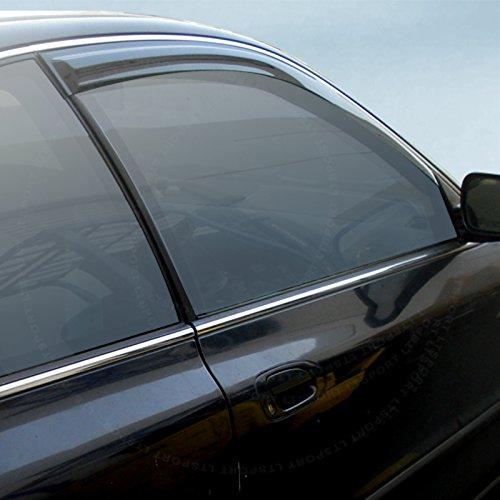 Jdm Integra (LT Sport Custom Fit 94-01 ACURA INTEGRA JDM Style Side Window Visor Deflector)