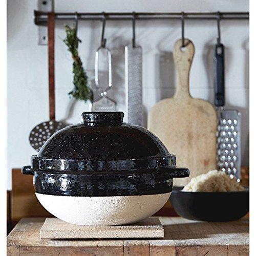長谷園 土鍋 ご飯鍋 かまどさん 3合炊き
