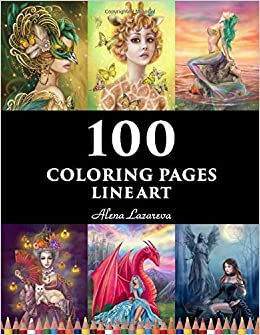 Free Fairy Fantasy Coloring Pages by Phee McFaddell | Fairy ... | 335x260