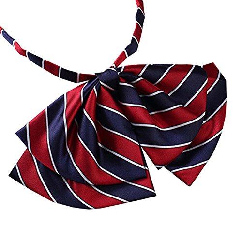 Bank/Hotel/Flight Attendants Work Uniform bow ties Women Formal Suit Necktie #12 by George Jimmy
