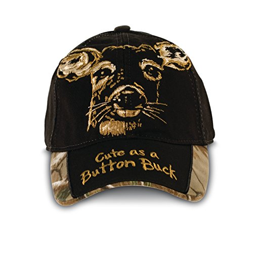 Buck Wear Button Toddler Hat, Multi, One Size - Humorous Button