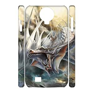QSWHXN Cell phone Cases Dragon Hard 3D Case For Samsung Galaxy S4 i9500