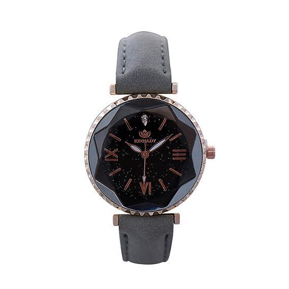 Darringls_Reloj RINNADY 052,Reloj de Cuarzo de aleación analógico Casual para Mujer Hombre Unisex Retro Relojes para Unisex Reloj de Pulsera Elegante: ...