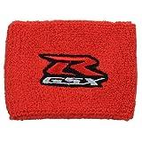 Kyпить Suzuki GSXR Red Brake Reservoir Sock Cover Fits GSXR, GSX-R, 600, 750, 1500, 1300, Hayabusa, Katana, TL 1500, SV 650 на Amazon.com