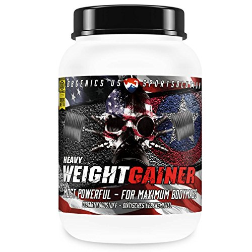 Heavy Weight Gainer, Kohlenhydrat- und Protein Supplement by BBGENICS, 1000g Schoko
