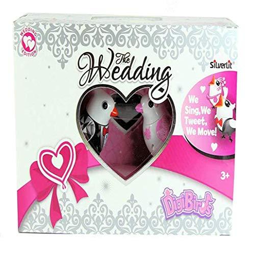 SilverLit DigiBirds 2 in 1 Wedding Edition Love Birds - Wedding Gift by Digi Birds (Image #4)