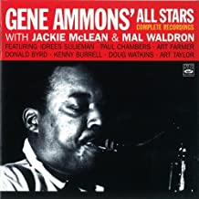 Gene Ammons All Stars. Complete Recordings with Jackie McLean & Mal Waldron Jammin with Gene, Funky, Jammin in Hi-Fi with Gene Ammons plus three of the four tracks on The Happy Blues
