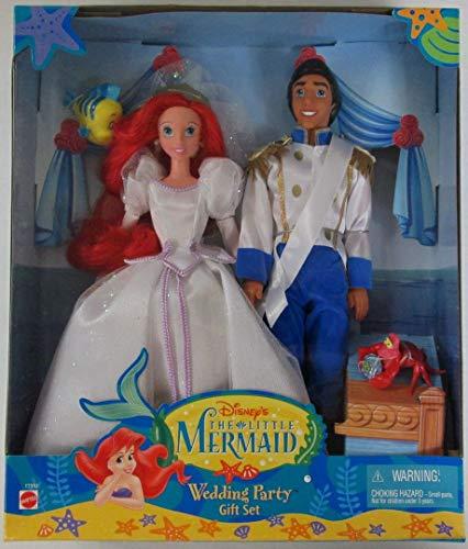 Disney's The Little Mermaid Wedding Party Gift Set (Ariel Mattel Eric And)