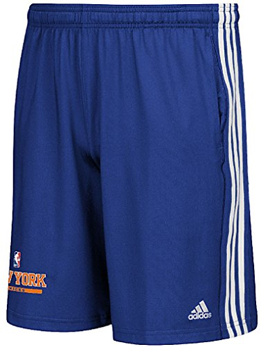 NBA New York Knicks Adult Men Enough Said Team Issue Short, Large, Blue