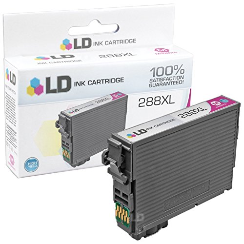 LD © Remanufactured Epson 288 / 288XL / T288 / T288XL Set of 4 High Yield Ink Cartridges (Black, Cyan, Magenta, Yellow) for use in Expression XP-330, XP-430, XP-434 & XP-440 Photo #3