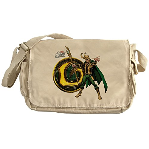 CafePress - Loki Icon - Unique Messenger Bag, Canvas Courier Bag by CafePress