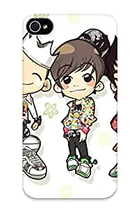Christmas Day's Gift- New Arrival Cover Case With Nice Design For Iphone 4/4s- Cartoon Wishwing Cartoon Korean Pictures