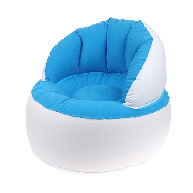 aufblasbare Luftkissen für Kinder aufblasbares Sofa tragbar Sitzsack