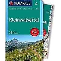 KOMPASS Wanderführer Kleinwalsertal: 2in1 Wanderführer mit Extra-Tourenkarte 1:25.000, 35 Touren, GPX-Daten zum Download