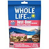 Image of Whole Life Pet Healthy Dog Treats, Human-Grade Salmon, Protein Rich for Training, Picky Eaters, Digestion, Weight Control, Made in the USA, 2 Ounce