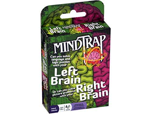 Outset Media MindTrap: Left Brain Right Brain