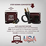 ACUPWR 400 Watt Step Down Transformer Japan to USA/ Canada – Use 100 Volt Appliances in North America AJD-400 [Lifetime Warranty Made with the Finest Materials in the USA]