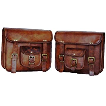 best Spot On CrazyLeather Saddlebags reviews