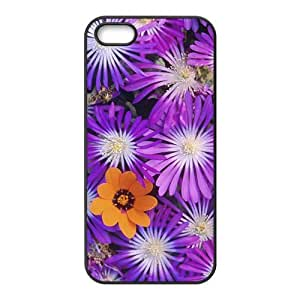 Pansy Flowers Custom Printed Durable Diy For Ipod mini Case Cover